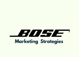 Marketing Strategies of Bose Brand
