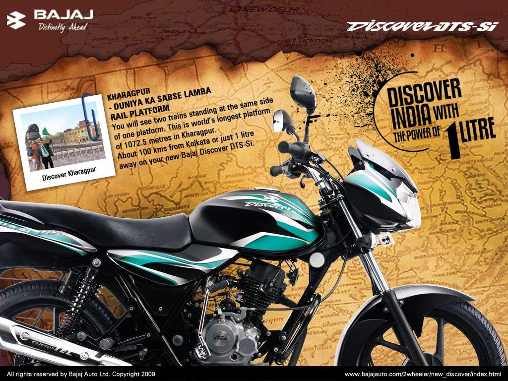bajaj discover print ad