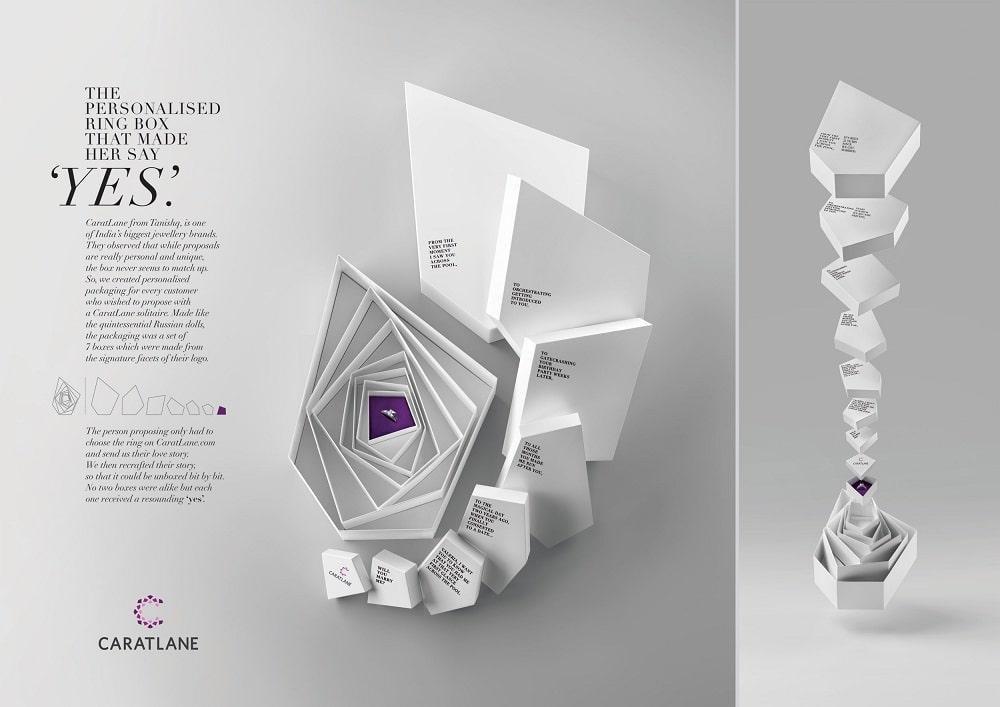 caratlane print ads