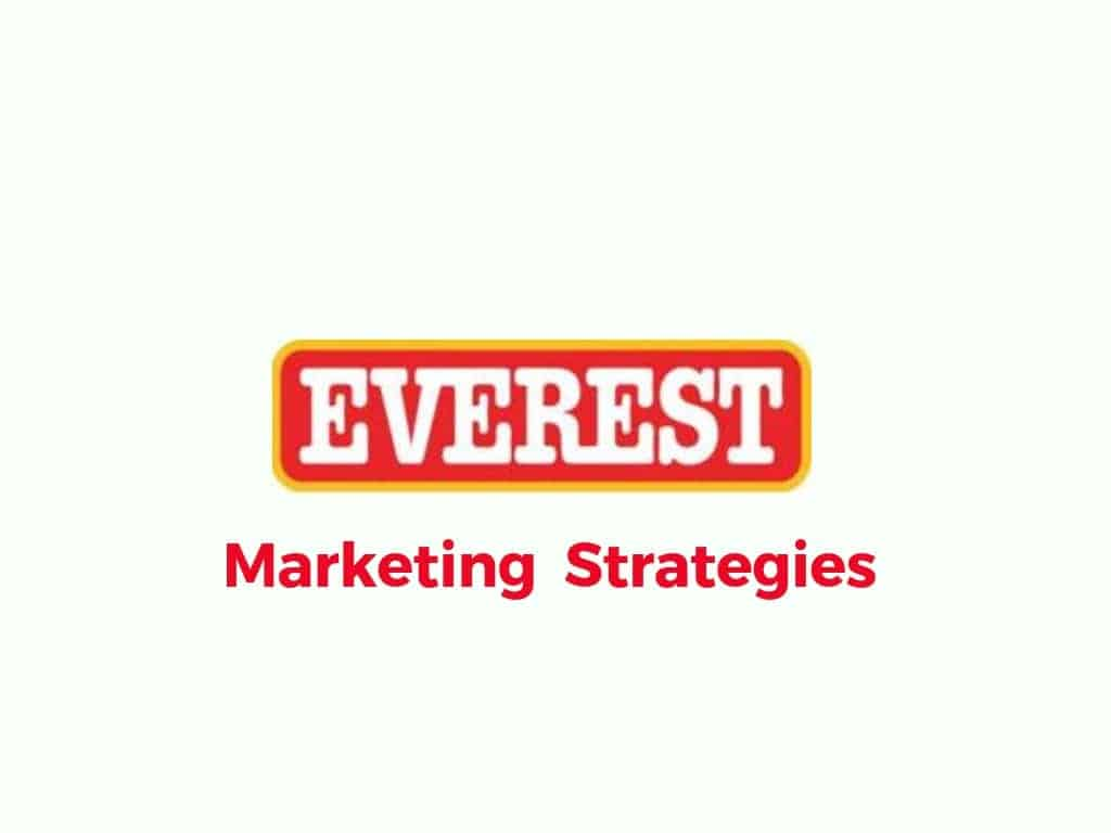 History & Marketing Strategies of Everest Spices