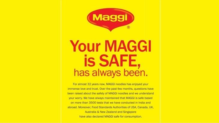 maggi print ads