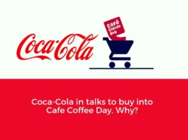 Cocacola to buy cafe coffee day