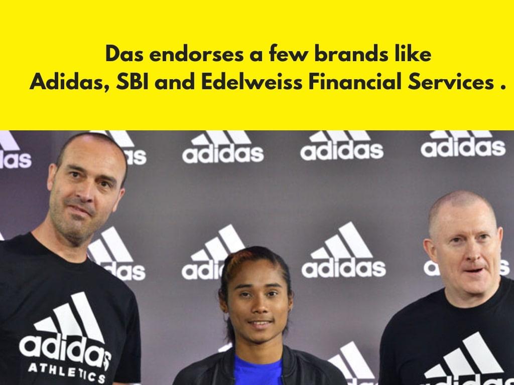 hima das brand endorsement