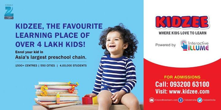 kidzee school ads