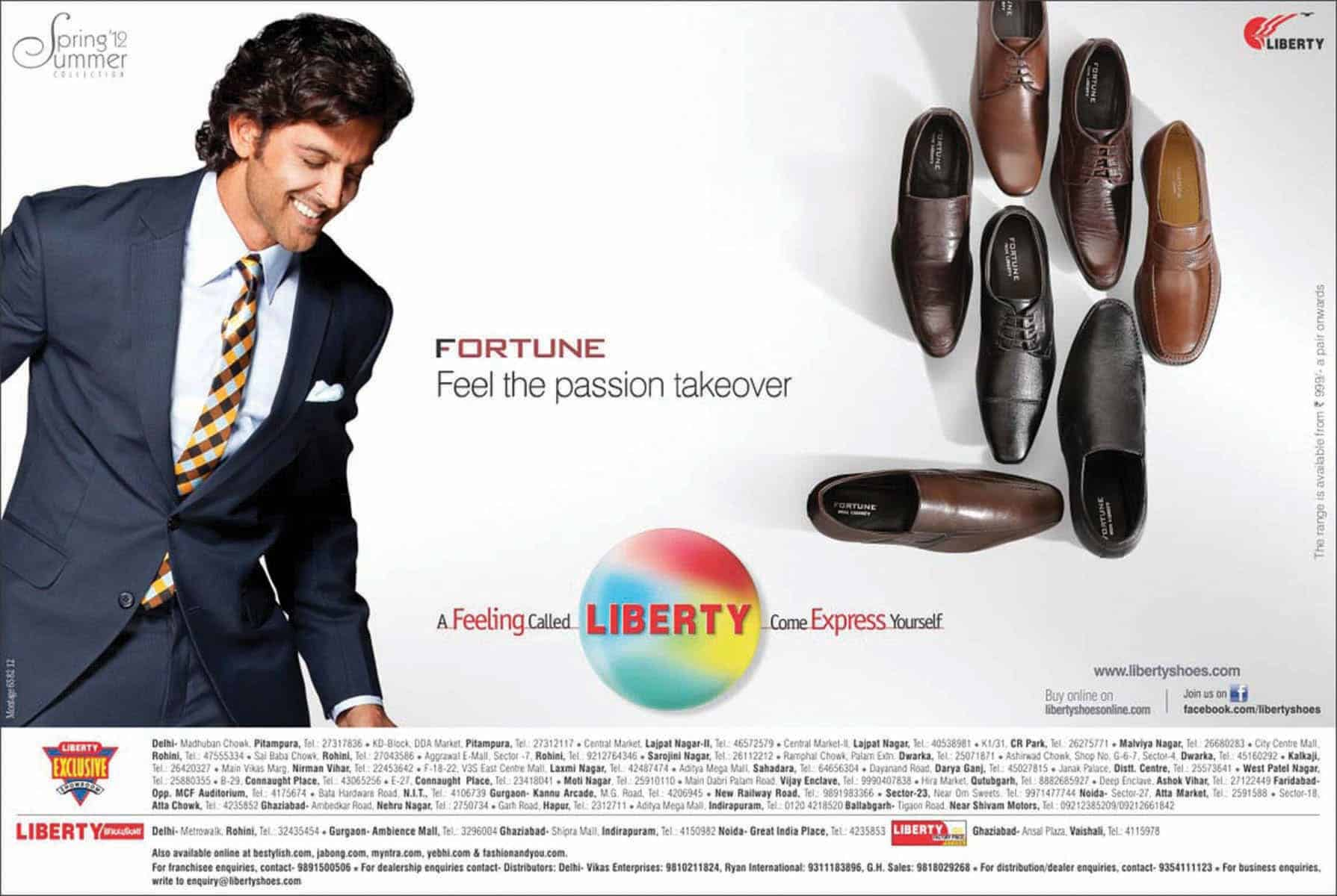 liberty shoes advertisement