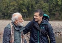 pm with bear grylls