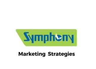 Marketing Strategies of Symphony