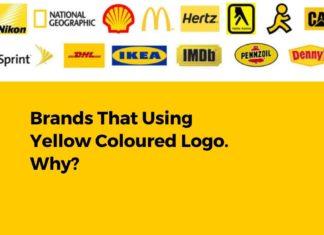 top brand using yellow coloured logo