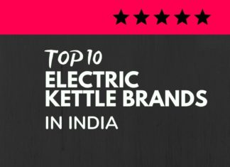Electric Kettle Brands India