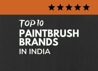 Paintbrush brands in India