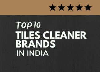 Tiles Cleaner brands in India
