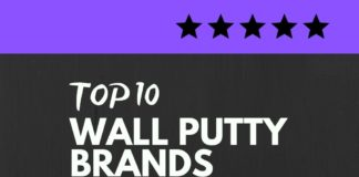 Wall Putty brands in India